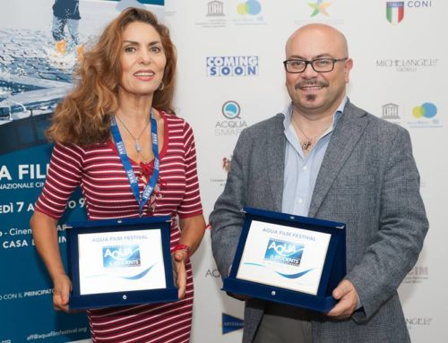 Acquasmart srl premia i cortini del concorso Acqua & Students all'interno di Acqua Film Festival 2018